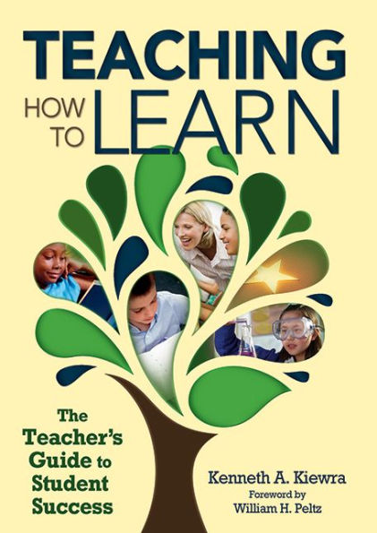 Dr. Kiewra's Book Cover: Teaching how to learn