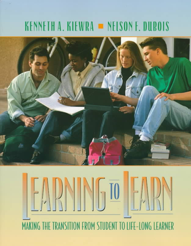 Dr. Kiewra's Book Cover: Learning to Learn