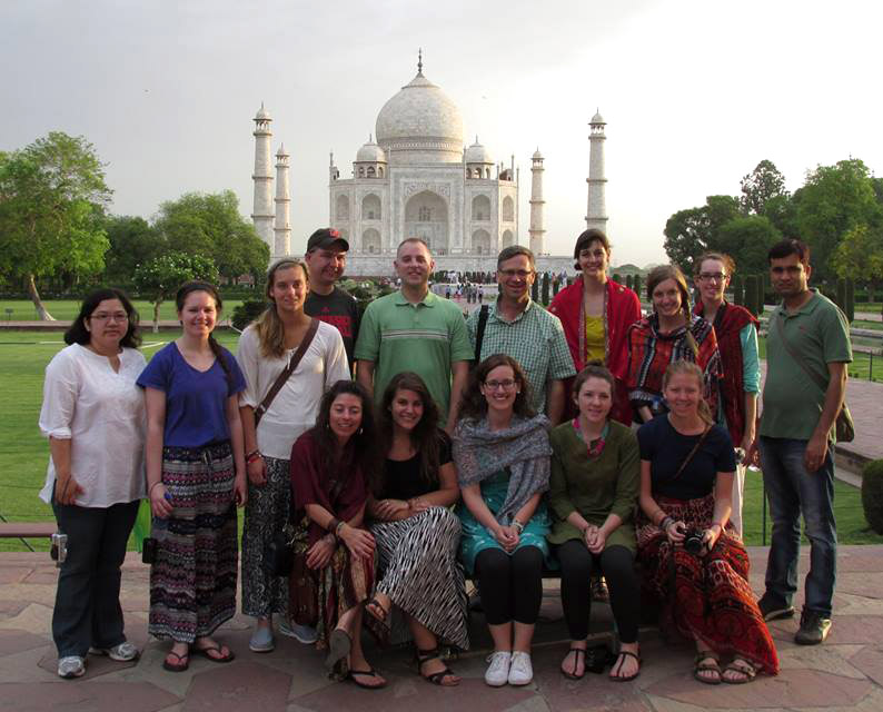 CEHS Students in India