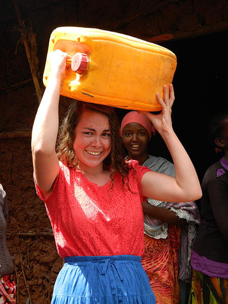 Maggie experiences education abroad in Ethiopia.