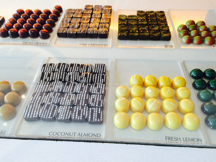 Photo of desserts from the Christopher Elbow Artisan Chocolates Facebook page