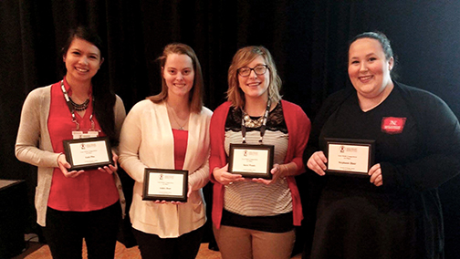 NASPA regional case study team wins competition.