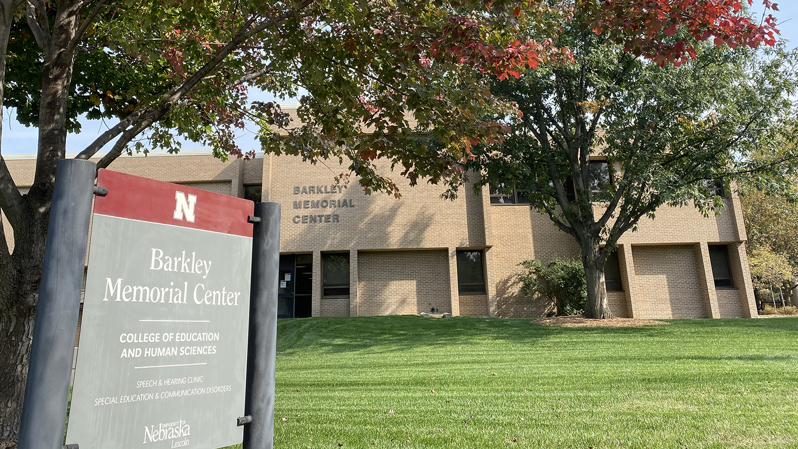 The Barkley Memorial Center is home to the University of Nebraska-Lincoln's Department of Special Education and Communication Disorders.