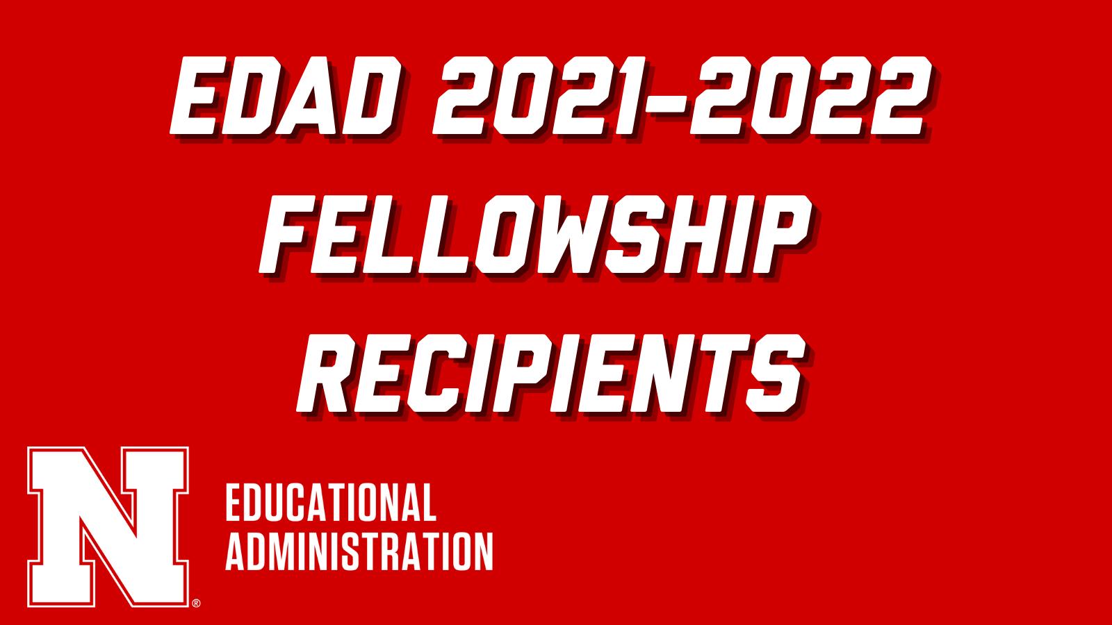 2021-2022 Fellowship Announcement