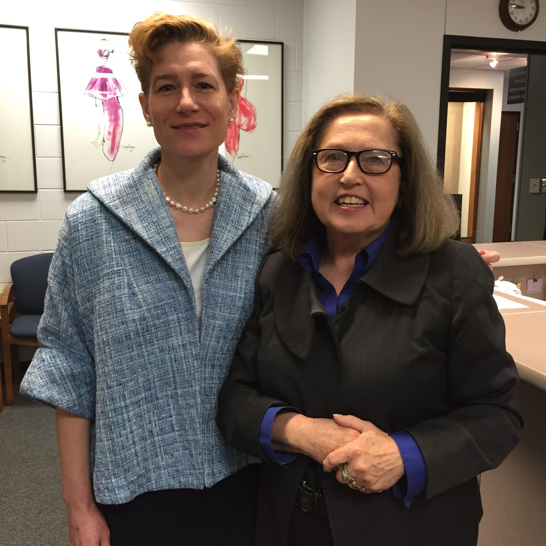 Linda Przybyszewski and Dr. Barbara Trout