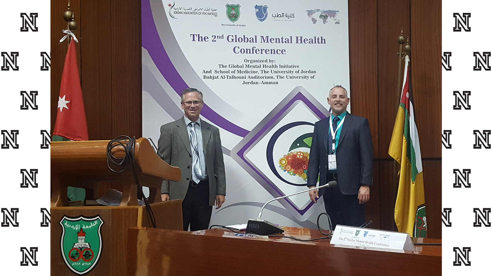 Bischoff and Springer join collaborative mental health initiative in Jordan