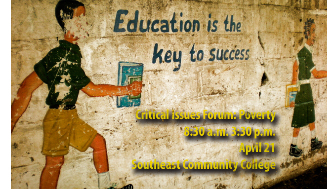 Critical Issues Forum explores poverty and education | College of ...