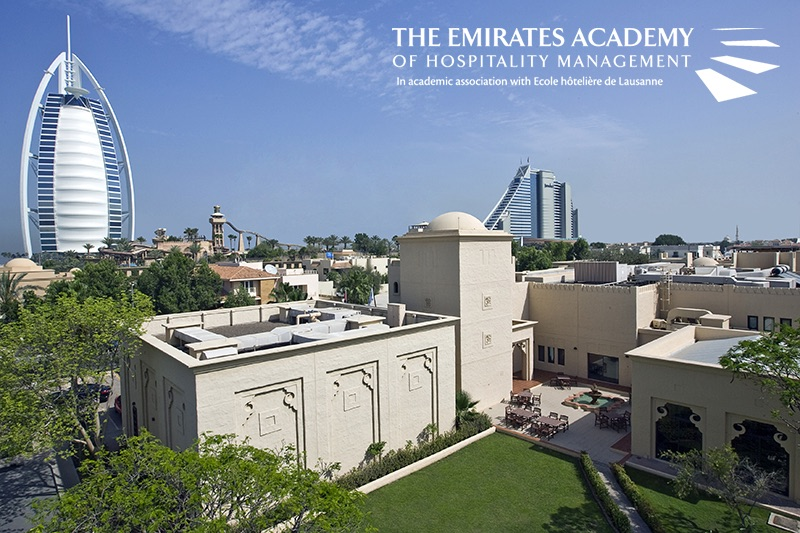 The Emirates Academy of Hospitality Management campus in Dubai, UAE.