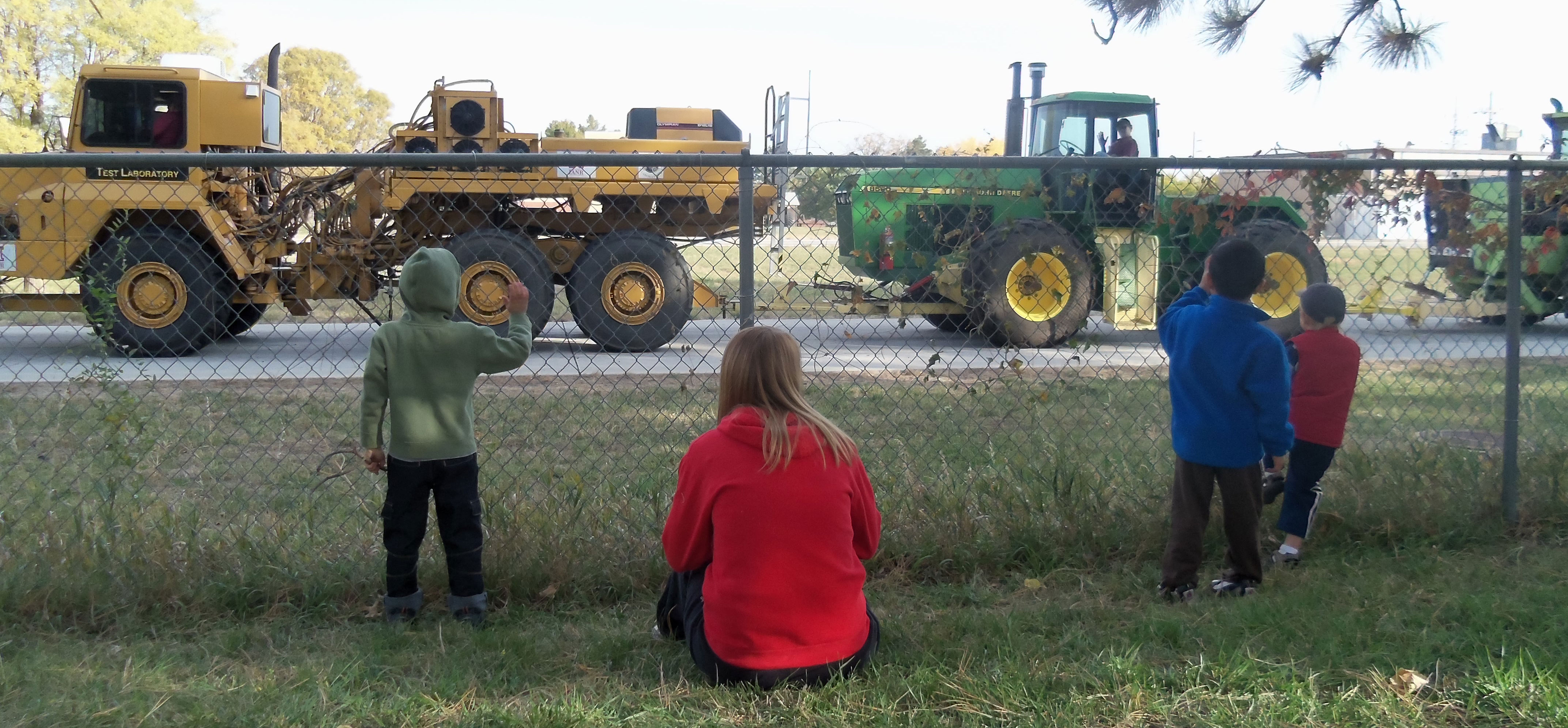 Looking at Tractors
