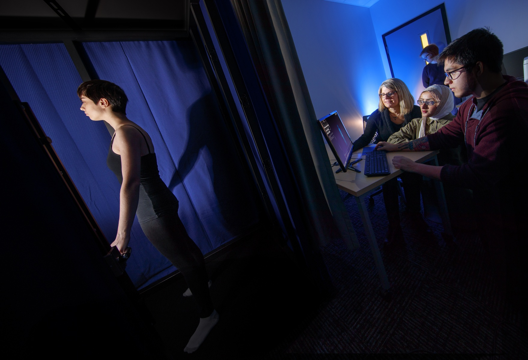 3D Body Scanning Lab | College of Education and Human Sciences