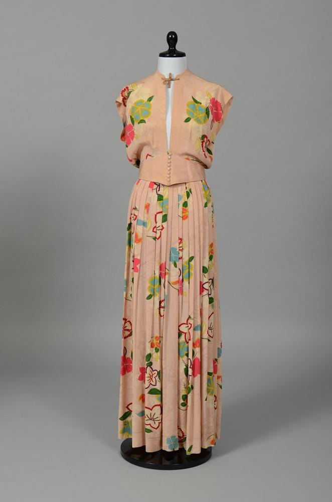 Berk two-piece gown