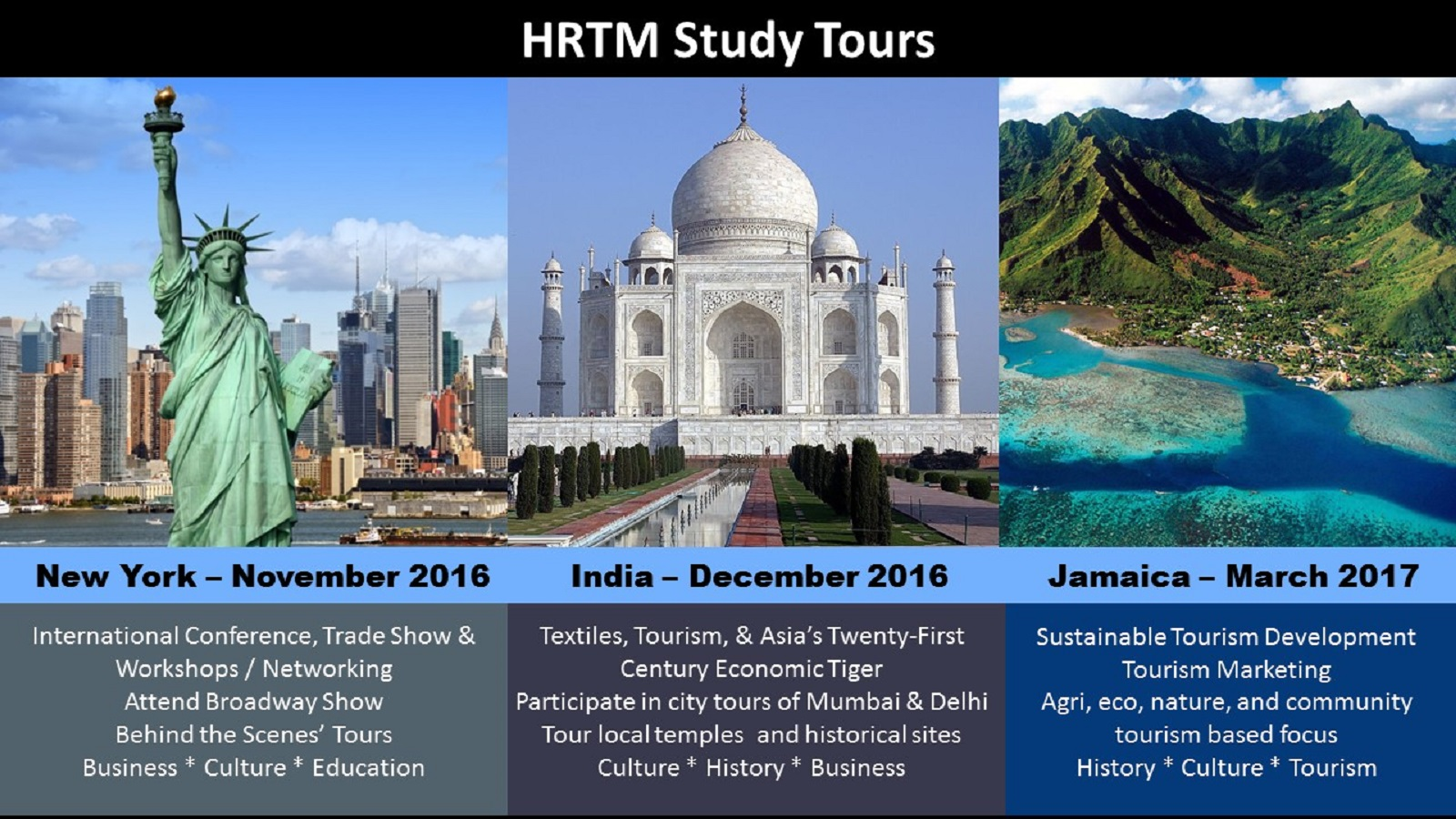 hospitality restaurant tourism management college of upcoming hrtm study tours