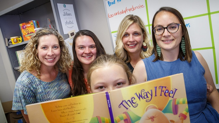 Young flood survivors heal through reading