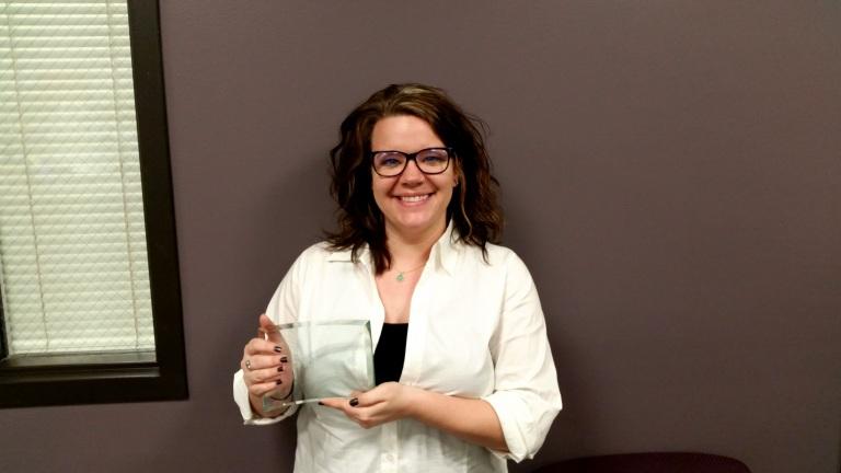 Kelsey Sims wins Great Plains IDEA award