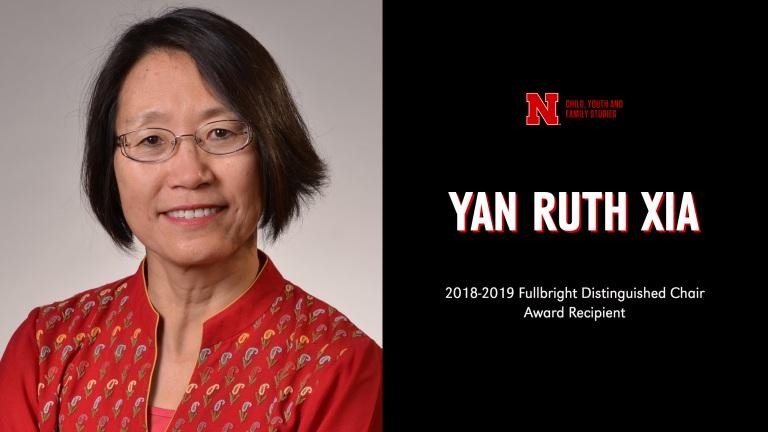 CYAF's Yan Xia receives prestigious Fulbright Distinguished Chair Award