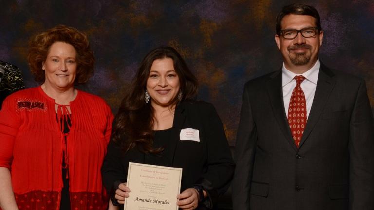 Parent's Recognition Award