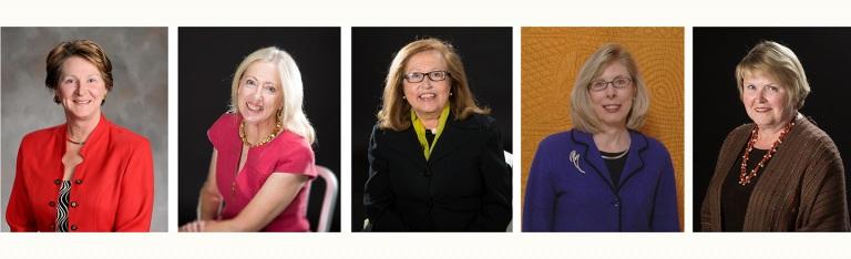 Carol Easley, Dr. Rita Kean, Dr. Barbara Trout, Dr. Patricia Crews, Dr. Diane Vigna.