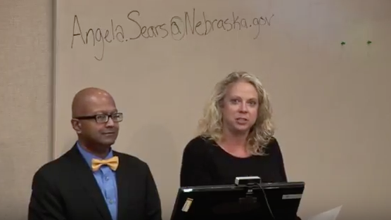 Dipra Jha presents a webinar for the Nebraska Tourism Commission.